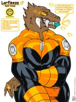 Lusty Larfleeze Stud bust Portrait_ fully colored by wsache2020