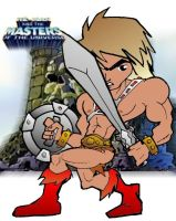 chi2 he man by Dennis80