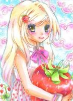 Strawberry by OoOoPitchBlackOoOo