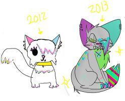One year. Wowe mamba ive improved whoa nelly by heIIcats
