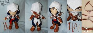 Custom Connor Assassins Creed Plush by sengster