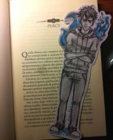 Percy Jackson's bookmarker by Reikma