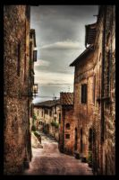 Down in the Alley HDR by ISIK5