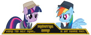 Equestria Noire Banner by Sefling