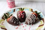 chocolate covered strawberries by ninjapumpkin