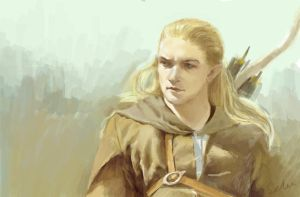 Legolas by seleee