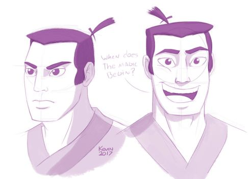 Jack sketches by PalmeraSensual