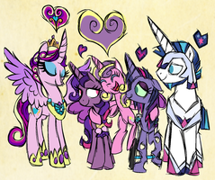 Crystal Hearts by StarryOak