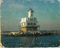 lighthouse by rusaeval