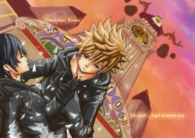 SPOILER KH358-2 'tears' ending by sk-sammy-joe