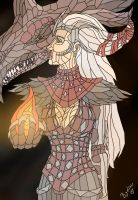 Flemeth - Dragon Age Saga. by LauraChisbert