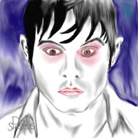 Barnabas Collins.. My life is my Casket by Sketched-Nightmares