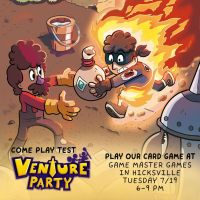 Come Play Test the VENTURE PARTY: CARD GAME by GeorgeRottkamp
