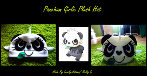 +Pancham Girlie Plush Hat+ by Lovely-Autumn