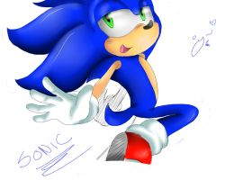 sonic :D by Patrial
