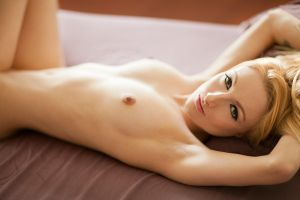 Pixie on my bed by PerryGallagher