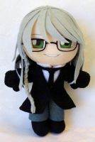 Commission, Reaper Undertaker Mini Plushie by LadyoftheSeireitei