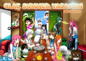CLAC Poster : Event Juni 2012 by n3kozuki