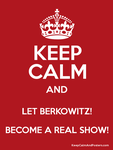 BERKOWITZ! KEEP CALM Poster by ETSChannel