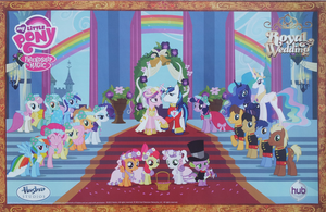 My Little Pony Royal Wedding by fanofetcetera