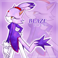 Blaze The Cat by Roselinath