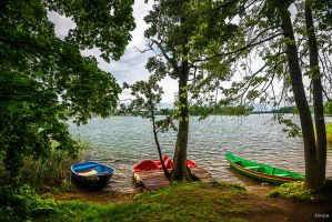 boats in Lithuania by Rikitza
