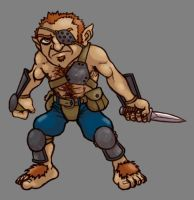 Halfling Rogue by ToddWestcot