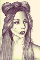 Lady gaga by K-Bononos