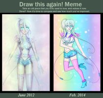 Draw This Again! Sailor Lost Star Edition by mishihime
