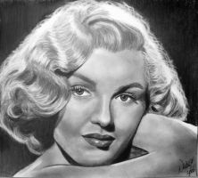 Marilyn Monroe by argentinian-queen