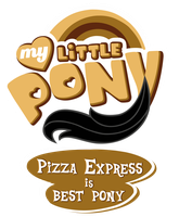 Commission MLP OC Logo - Pizza Expres is Best Pony by MLPBlueRay