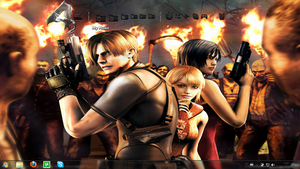 Resident Evil 4 for Objectdock by stvmh