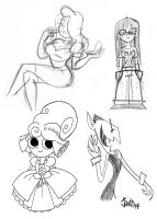 Sketching Time! 20 by JaviDLuffy
