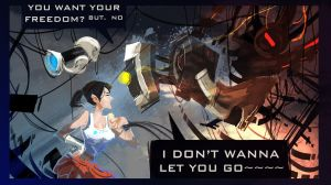 PORTAL 2   I donot wanna let you go by biggreenpepper