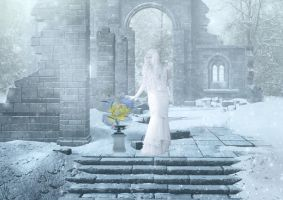 Touching Snow Queen by NikNikonov