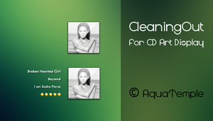 CleaningOut for CD Art Display by AquaTemple