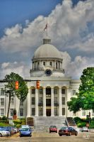 Alabama Capitol by Alabamaphoto
