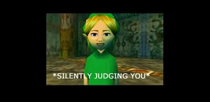 LoZ: Majora's Mask: BEN is silently judging you by 8BitStitchPunk