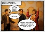 The Sixth Doctor Knows What The Round Things Are by GhostLord89