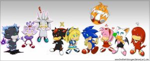 Chibi Sonic Crew :Submission by Blue-Sonikku