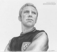 Bobby Moore by madeleineironique