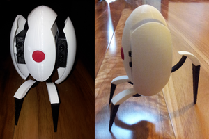 Portal Turret 3D Printed by DJBrowny