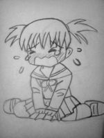 Crying Chibi (redo) by Ilovekidbuu