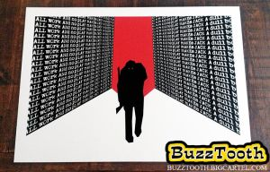 '237' The Shining inspired screen print by Buzztooth