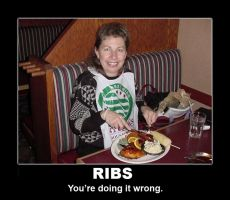 Ribs Demotivator by grenadeh