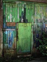 green door by awjay