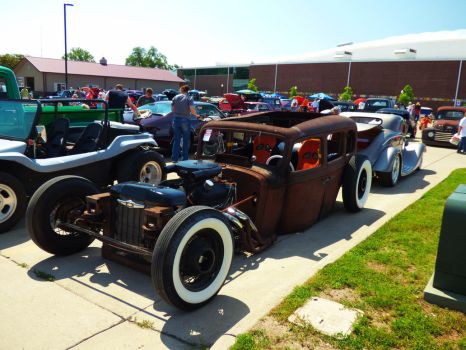 Rebel Rat Rod by Carsiano