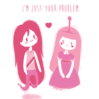 I'm just your pink problem by Thegirlins