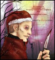 Hannibal - Santa is coming to town 2014 by FuriarossaAndMimma
