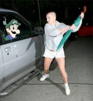 Britney Spears Vs Weegee by FuzzyResonator